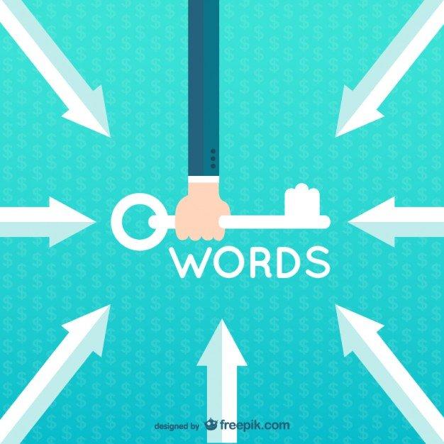 Palabras clave o keywords: qué son, para qué sirven y qué tipos existen